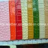 Embossed Crocodile Grain PU Leather for Handbag