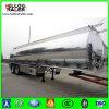 China 56000 Liters Aluminum Alloy Fuel Tank Truck Semi Trailer for Sale