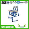 Hot Sale School Double Student Desk with Chair (SF-14D)