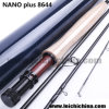 Nano Plus 8FT6 4 Section Fly Rod Blank Fishing Rod Toray Carbon