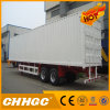 3 Axles Curtain Van Tailer in Truck Semi Trailer Truck for Sales