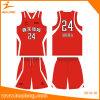 Healong Hot Sale Sportswear Design Dye Sublimation Basketball Jersey