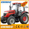 Hot Selling Large Power Farm Wheel Tractor 1004 100HP 4WD with Kinds of Attachments