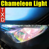 New Chameleon Car Headlight Film for Light Protection