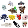 Minecraft Plush Toys 13 Styles Soft Stuffed Animal Doll Kids Game Cartoon Toy Brinquedos Children Gift