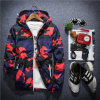 Elastic Cuff Camouflage Hooded Sun Block Jacket for Man′s Clothes