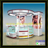Elegant Skin Care Display Stand with Tempered Glass for Display (C10020)
