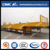 3axle Gooseneck Cargo Fence Semi-Trailer with Ramp!