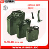 20L Auto Fuel Tank Jerry Can Container Metal Jerry Can