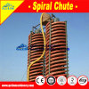 Spiral Chute for Concentrating Sand Ore in Beach, Riverside, Seashore