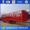 Livestock Transporting 3 Axle 40 Tons Fence Stake Semi Trailer