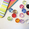New Style Colorfur Acrylic Buttons for Garments