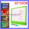 32 X 25 Cm Digital Illuminated Message Board LED Store Advertising Billboard Marker Pen (MB-1015)