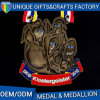 Die Casting Antique Bronze Plated Souvenir Medal