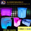Outdoor Rechargeable LED Color Changing Furniture Bar Counter