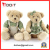 Valentines Gift Plush Sitting Teddy Bear with Soft Material