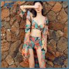 Popular Boho Swimsuit with Chiffon Cover up