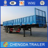 3 Axle 40 Tons Side Panel Side Wall Cargo Trailer
