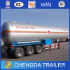 3 Axle 40-60m3 Transport LPG Tank Semi Trailer