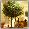 Indoor Decoration Plastic Leavs Artificial Bnyan Tree