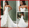 Strapless Wedding Dress Lace Taffeta Bridal Wedding Gown A15211