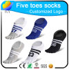 Customized Number Design Five Toe Socks Casual Socks