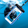 Drifting Swimming Mobile Phone Touch Screen PVC Waterproof Phone Bag