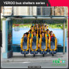 Outdoor Street Furniture Bus Stop Shelter for Sale