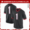 Customised Dry Fit American Football Uniforms Jersey Black (ELTFJI-70)