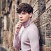 2017 Wholesale Long Sleeve Compression Sweat Shirts for Men Knitted Turtleneck Shirt