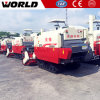 360 Degree Discharging Pipe 88HP Felled Wheat Rice Combine Harvester