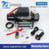 Steel Rope Winch Heavy Duty Winch with 10000lb Load Capacity
