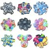 Colorfully Hand Spinner High Speed Truning at Stock