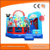 2017 New Cartoon Design Inflatable Jumping Castle with Slide (T3-908)