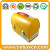 Handle Tin Container for Gift Metal Lunch Tin Box Packaging