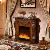 Wood Hotel Furniture Heater Electric Fireplace with Ce Certificate (330)