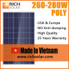 260W Polycrystalline Silicon Solar Modules with TUV Certificate, Made in Vietnam