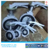 Alloy Aluminum Wafer Butterfly Valve with Handle JIS Standard SS316DISC and Stem BCT-ALU-BFV316