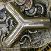 Stainless Steel Sanitary 28wb True Weld Butt Weld Y Tee