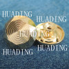 Fashion Beautiful Alloy Material Metal Shank Button for Garment (HD1102-15)