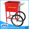 8 Oz Automatic Old Fashioned Electric Commercial Kettle Caramel Mobile Popcorn Machine Cart for Sale Price