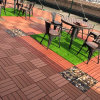 WPC DIY Decking Wood-Plastic Composites Outdoor Decking Composite Many Colors Waterproof Building ...