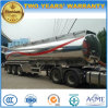 40000 Liters Aluminium Alloy Fuel Tanker 40000 L Stainless Steel Semi Trailer