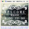 Transparent Glossy Removable PVC Static Cling Film for Window Decoration