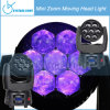 RGBW Osram Zoom 7 PCS 4 in 1 10W LEDs Moving Head (CY-Beam-07)