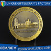 Custom Zinc Alloy Challenge Coin Souvenir Coin with Gold Plated