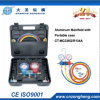 Aluminum Alloy Testing Manifolds with Hand-Carry Plastic Case (CT-MC236G-R134A)