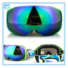 Magnetic Frameless Sporting Ski Goggles with Interchangeable Lenses