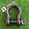 Black Painted G209 Bow Shackle