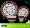 Wholesale Custom Ceramic Hand Printed (Painted) Stoneware Dinnnerware